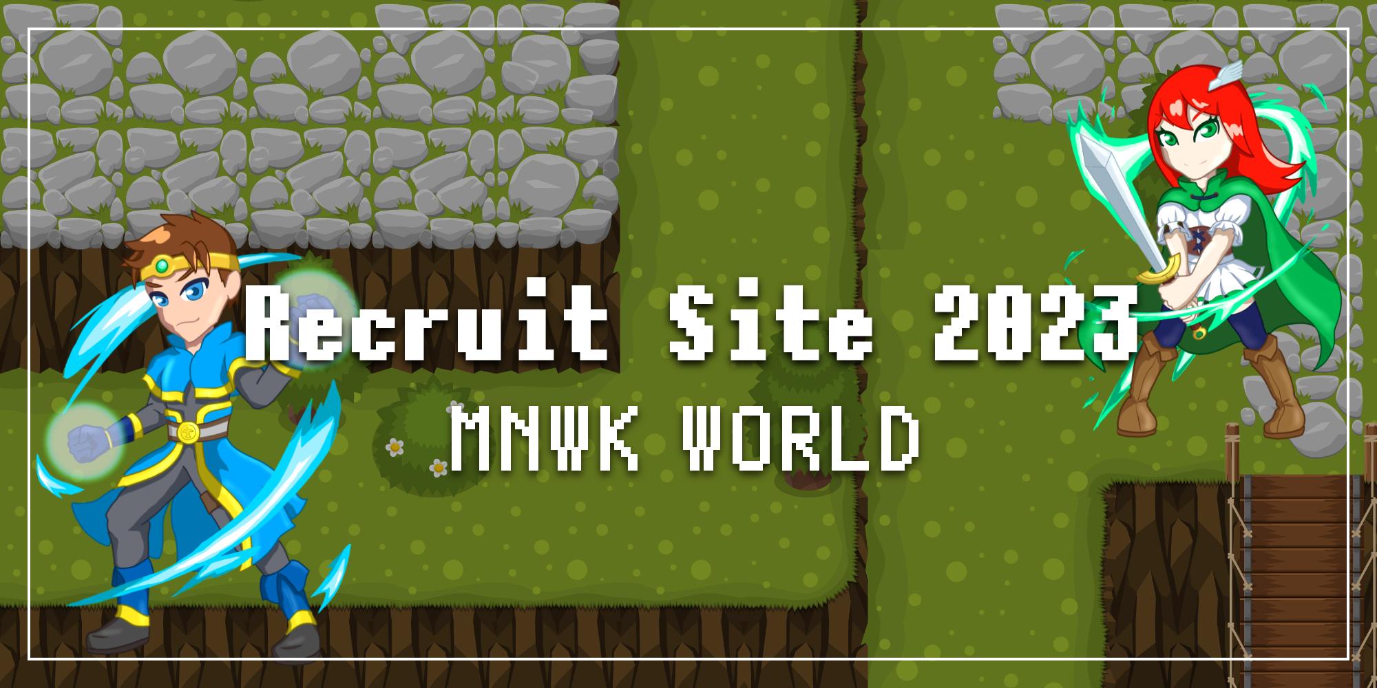 Recruit Site 2023 MNWK WORLD